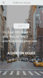 Mobile Preview of aldertonhouse.org