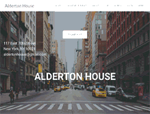 Tablet Preview of aldertonhouse.org